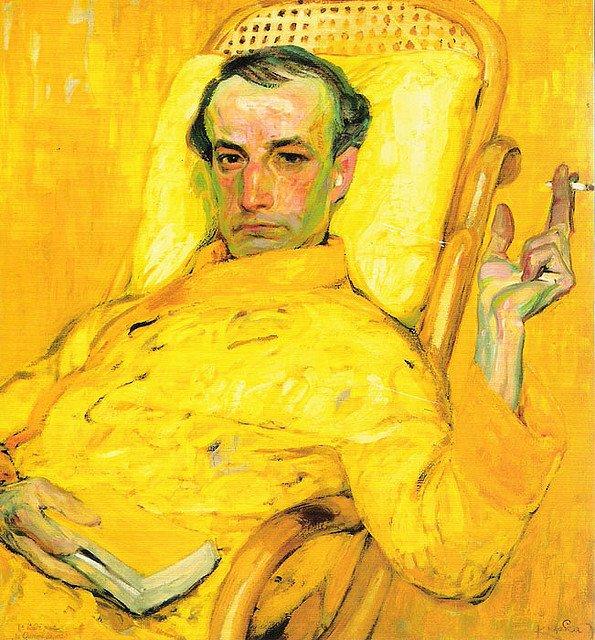 immmagine:Portrait de Charles Baudelaire par Franz Kupka