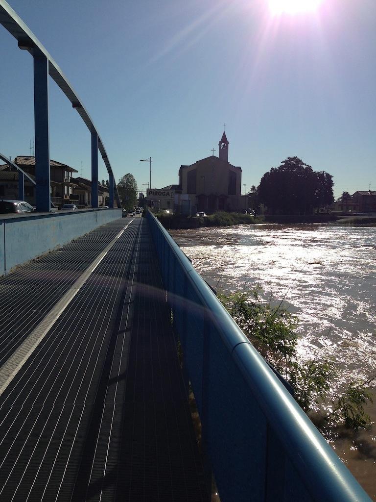 Bacchiglione in piena Padova 18.05.2013