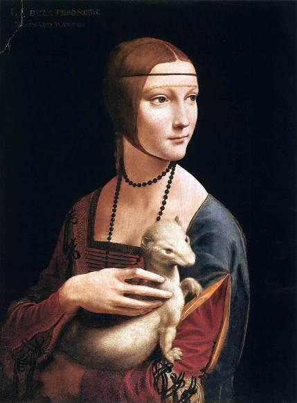 Leonardo-La-dama-con-lermellino-1483-1490