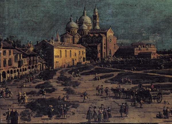 Padua, Prato della Valle / Canaletto -  -