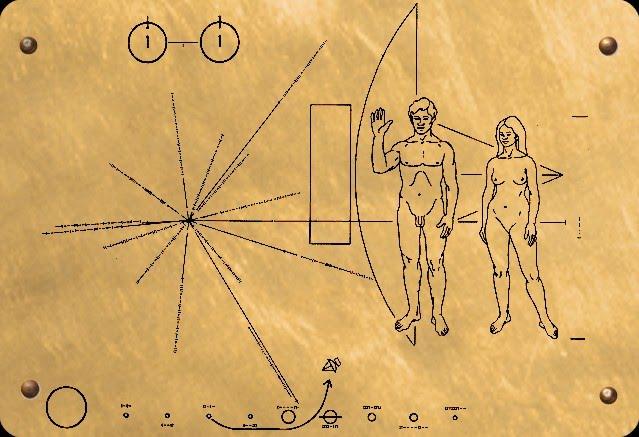 targhetta I messaggi  interstellari