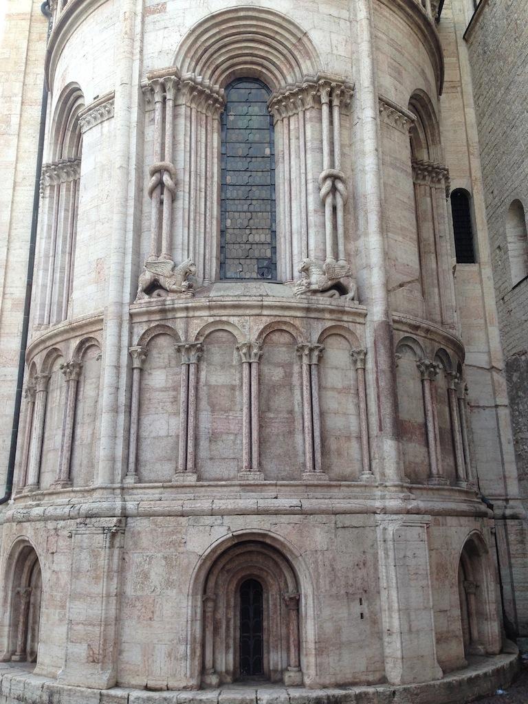 Esterno abside Duomo di Trento