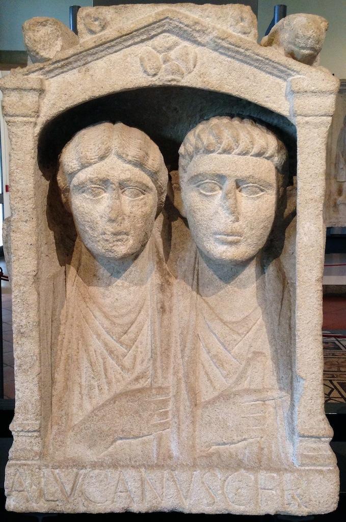 stele di Aulus Lucanus