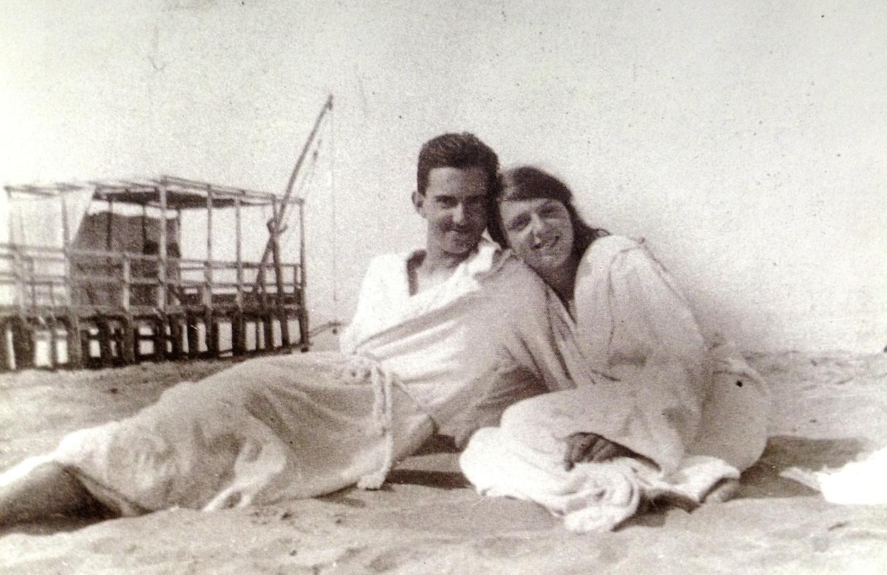 Umberto di Savoia e la sorella Mafalda 1920