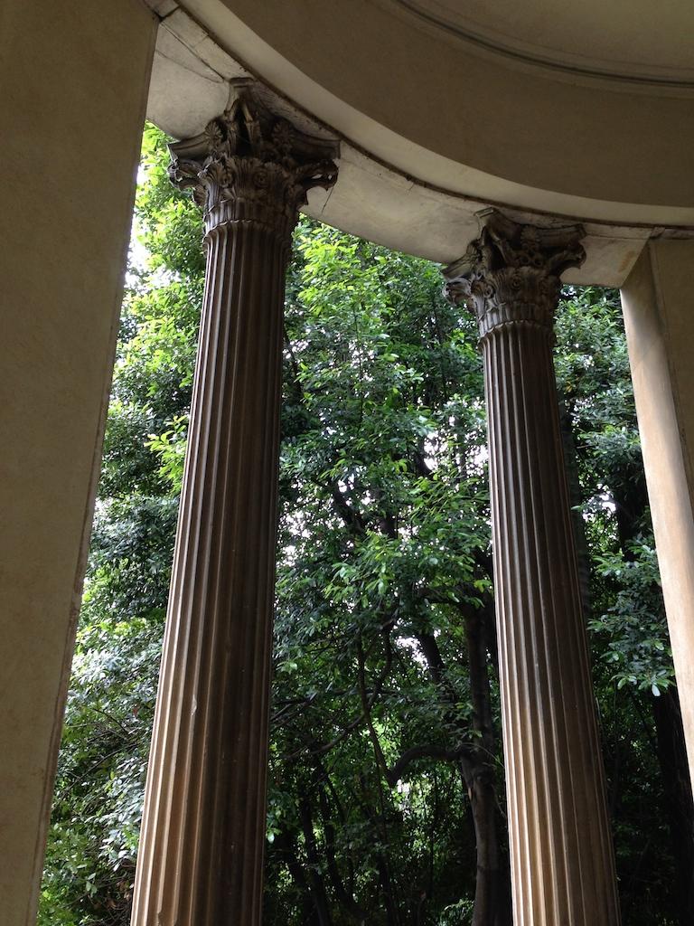 Tempietto ai Giardini Treves