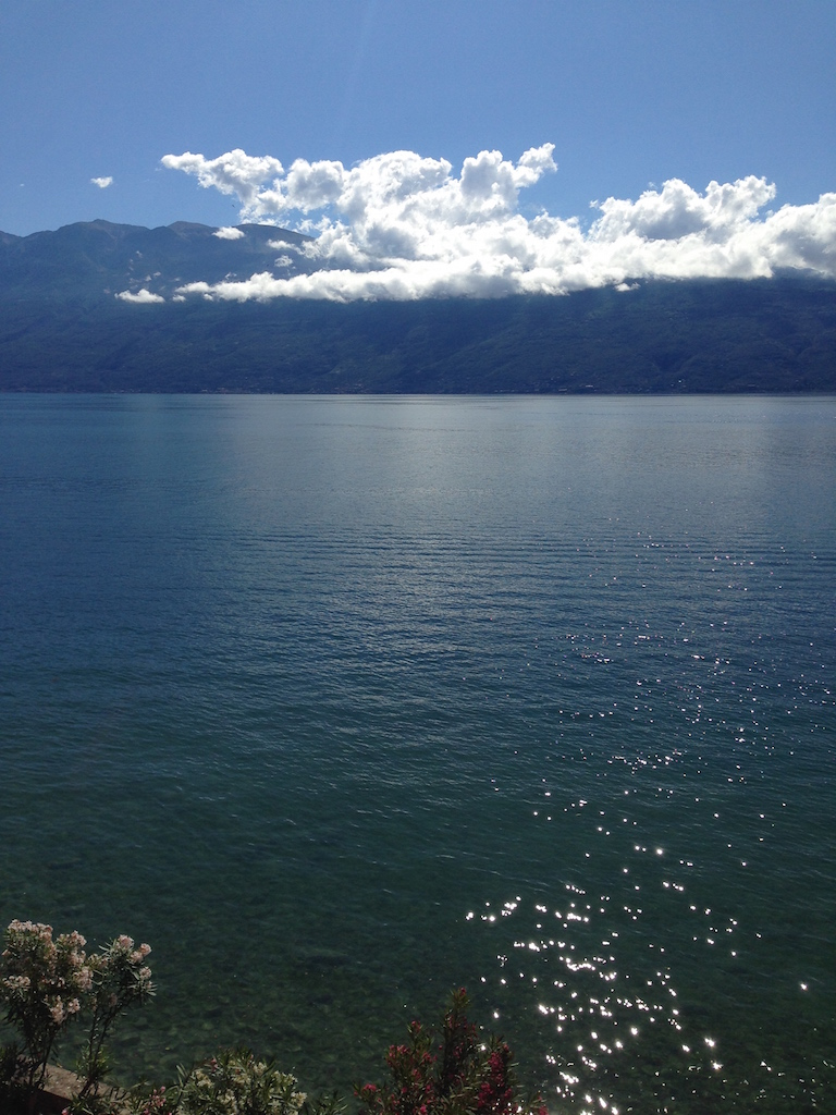 Vista del Monte Baldo Lago di Garda