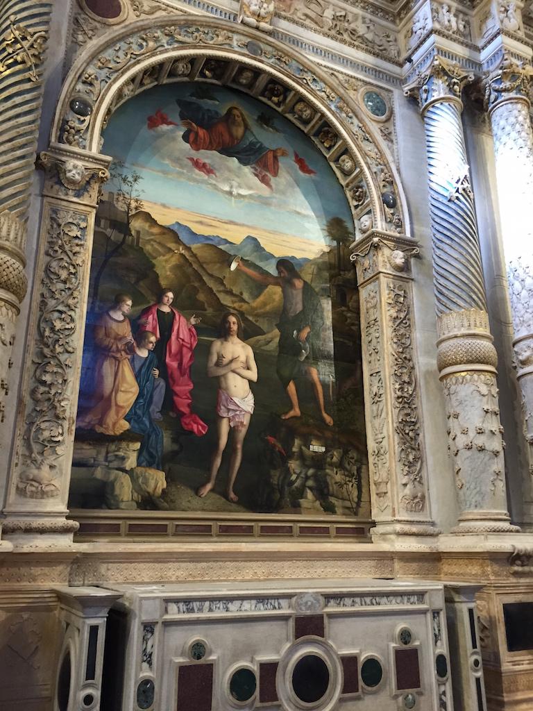 Il battesimo di Cristo G.Bellini