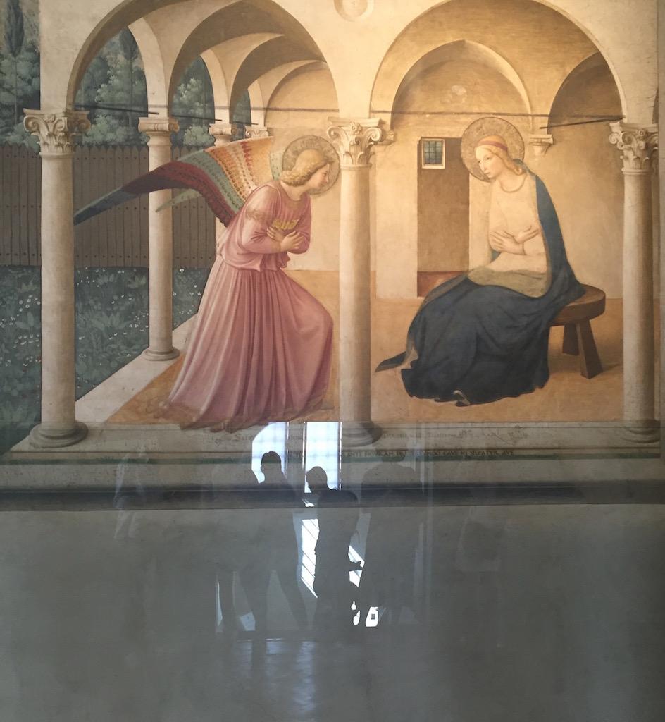 L'Annunciazione del corridoio Nord è un affresco di Beato Angelico