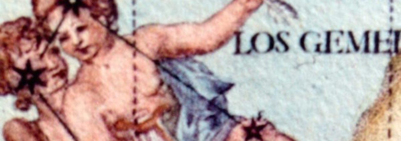 Dall'energia della Terra passiamo ora a quella dell'Aria. I Gemelli, Castore (mortale) e Polluce (immortale) ne sono il simbolo, manifestando la natura duale dell'essere umano. Due come un sé inferiore e un Sé superiore, nel corpo due mani, due occhi, due orecchi, due gambe, due braccia, due emisferi celebrali, maschio e femmina. L'alto viene messo in collegamento con il basso, il cielo con la terra, inizia il ragionamento, la catalogazione, la speculazione. Mercurio mantiene la fluidità delle forze vitali dai centri inferiori a quelli superiori. Venere pianeta governatore aiuterà in questo intento. Dal movimento incessante, dal continuo correre in tutte le direzioni sarà proficuo apprendere la lezione data dal segno opposto nello zodiaco: il Sagittario. Questo offrirà la capacità di fissare un bersaglio, di portare alla luce le potenzialità del Sé superiore e di donarle al mondo. Va diminuendo la brillantezza di Castore, perché quella di Polluce prenda il sopravvento, la potenza della vita spirituale, la diminuzione del potere del sé personale.